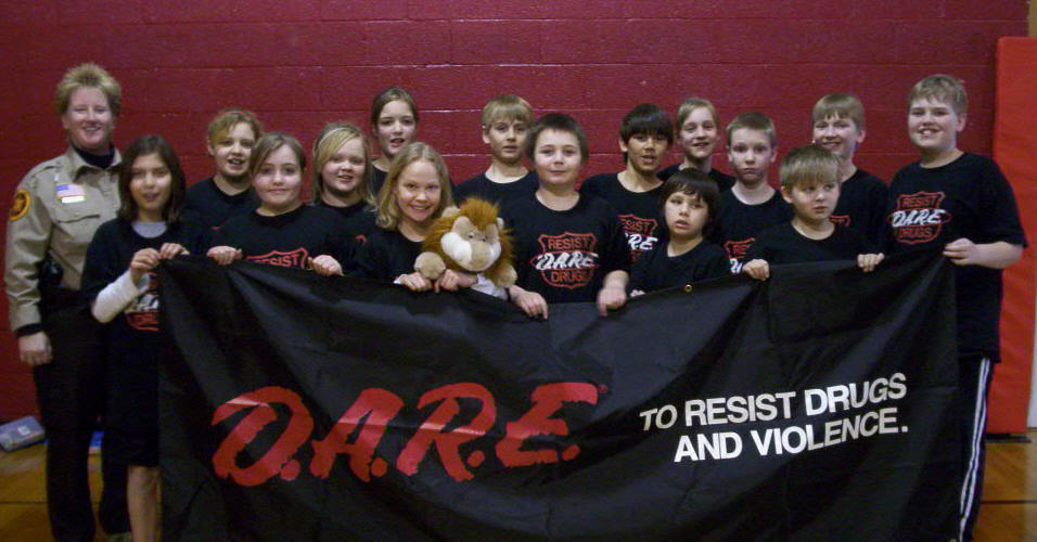 The second D.A.R.E. 2008 graduating class